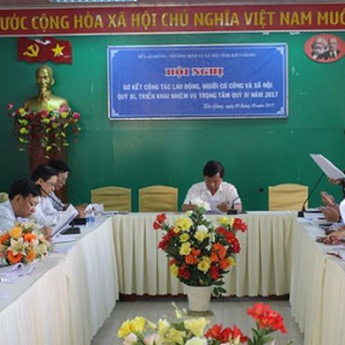 SỞ LAO ĐỘNG TB&XH TP. KIÊN GIANG