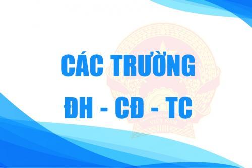 TRƯỜNG ĐH-CĐ-TC